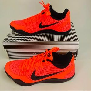 Nike Kobe XI 11 Barcelona Low Shoes Mango Black 9